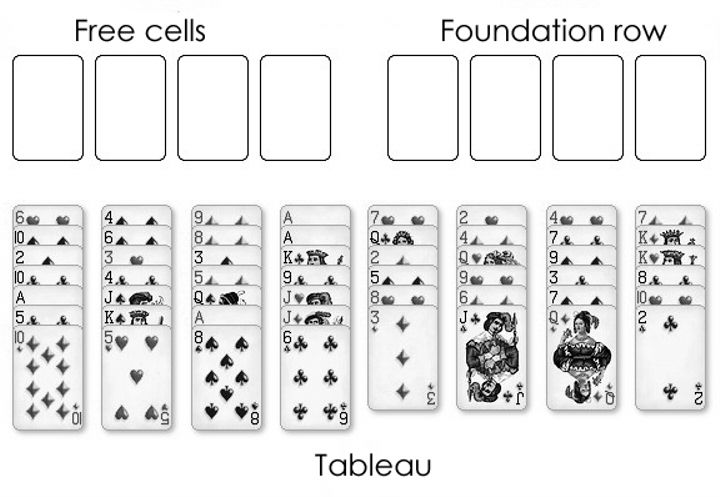 How to Play Freecell Solitaire